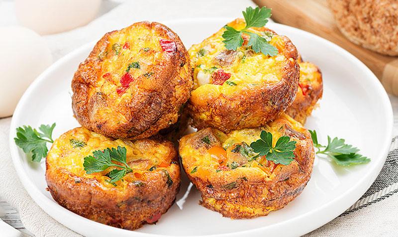 Sommergemüse-Muffins