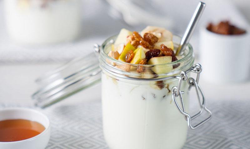 Powerjoghurt mit Cashewnüssen