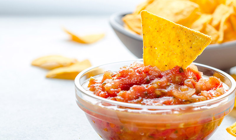 Tomaten-Salsa-Sauce mit Semmelbrösel