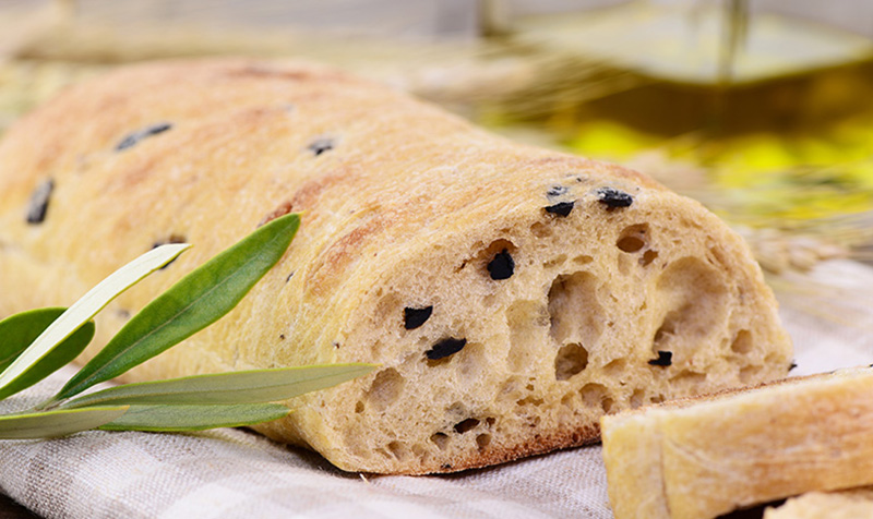 Selbstgemachtes Ciabatta