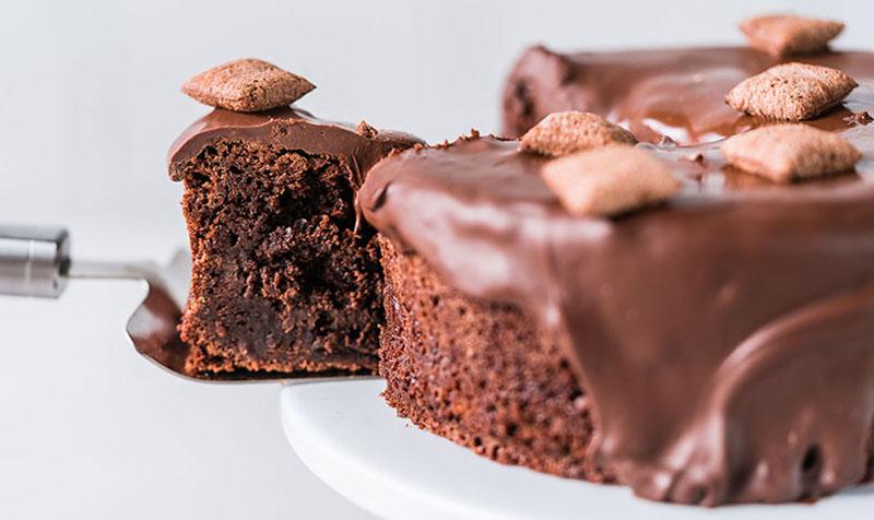 Nougat Bits Kuchen