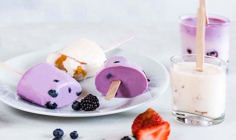 Fruchtjoghurt-Eis