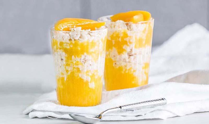 Mandarine-Zimt Milchreis