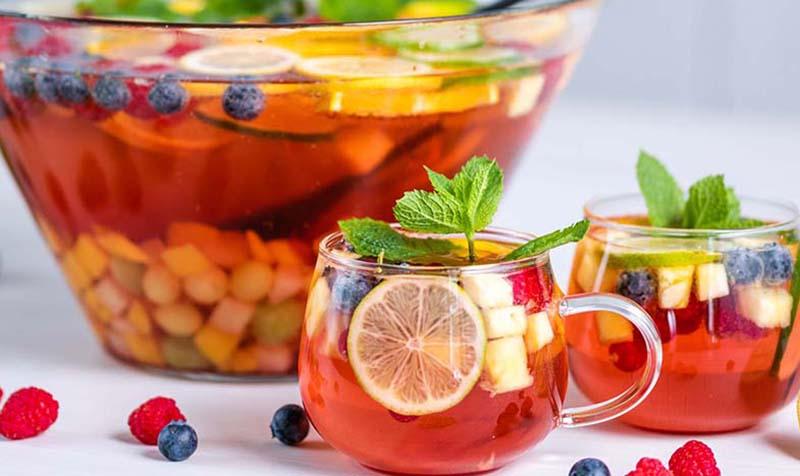 Früchte Bowle
