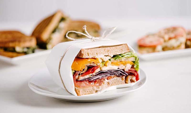 Bunt und Gesund - Sandwich Deluxe
